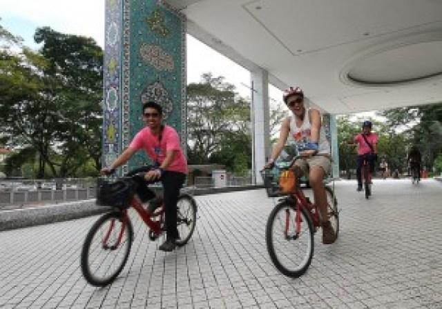 Biking in Kuala Lumpur