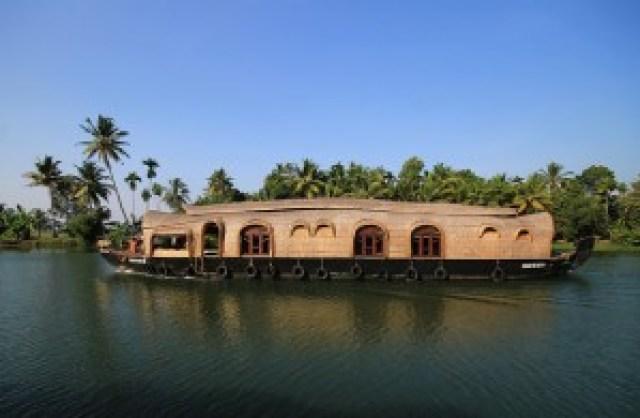 Kettuvallam (Houseboat) on Pamba River