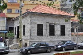 مسجد ساحة العين كما يبدو بعد تجديده عام 2008