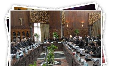 صورة مصر المحروسة تجتمع تحت راية الأزهر