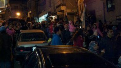 صورة مسيرة حاشدة في برجا ابتهاجاً بمولد الرسول