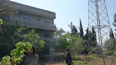 صورة الرعب يلفّ حي آل غطاس في زاروت