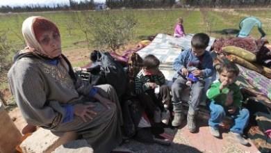 صورة النازحون السّوريّون في بَرْد الأقبية ووُرش البناء