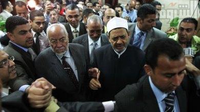 صورة المرشد العام للإخوان المسلمين : الأزهر مرجعيتنا وشيخه الأكبر إمامنا