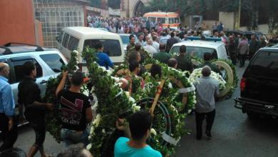 صورة برجا الشوف تودع الرئيس حسن غصن
