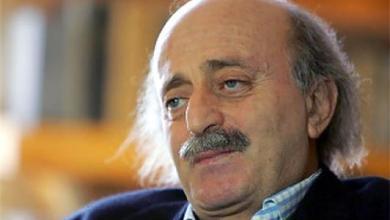 صورة جنبلاط: أصبحت الزبال الأول في لبنان