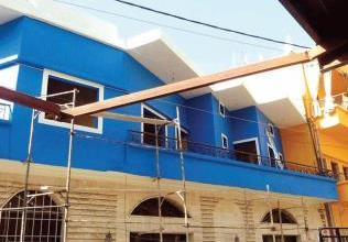صورة مدينة تاريخية تنتقل من الإهمال إلى الرقي : مشروع لتجميل وطلاء «برجا» اللبنانية