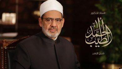 صورة الإمام الأكبر شيخ الأزهر: نستحث في البشرية لُحمة الأخوة الإنسانية