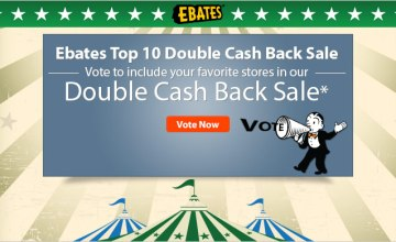 Vote for Your Favorite Store for Double Cash Back!