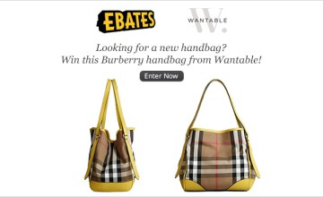 Win a Burberry Handbag from Wantable and Ebates!