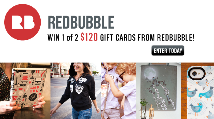 Win a Gift Card from Redbubble