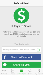 Download the Ebates iPhone App Today! 5