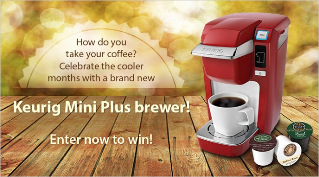 Keurig brewer