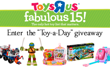 """Toys R Us """"Toy-a-Day"""" Giveaway"""