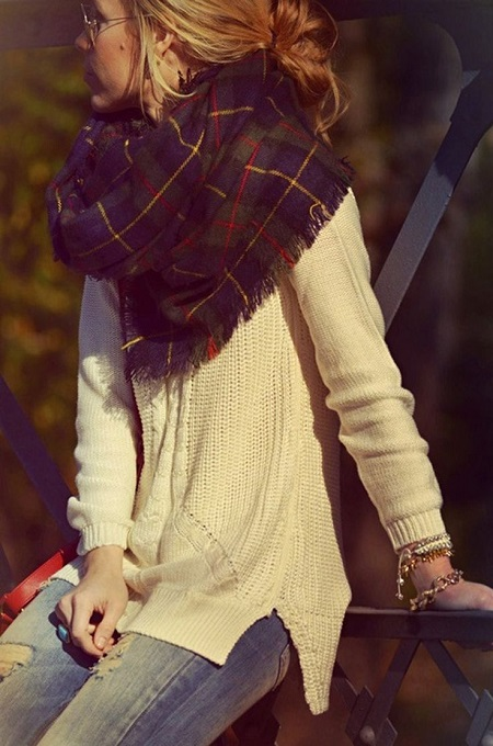 plaid_infinity_scarf