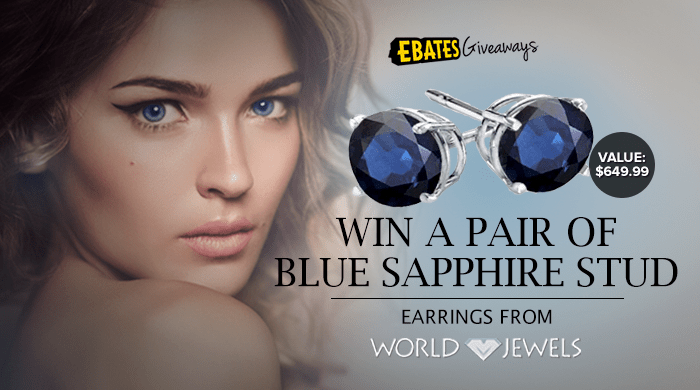 Win a Pair of Sapphire Studs!