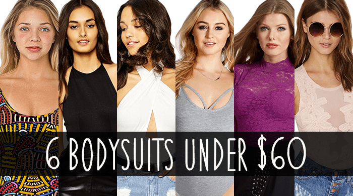 Beautiful Bodysuits on a Budget