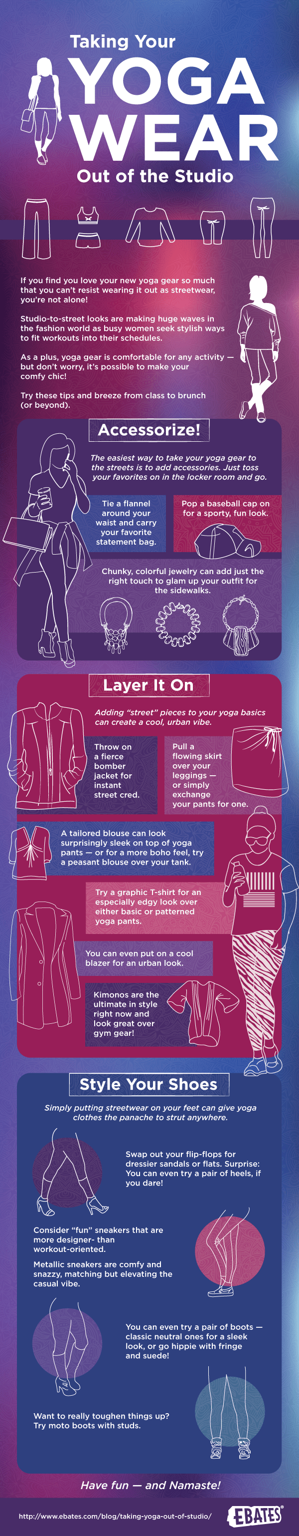 Taking Yoga Out of the Studio Infographic