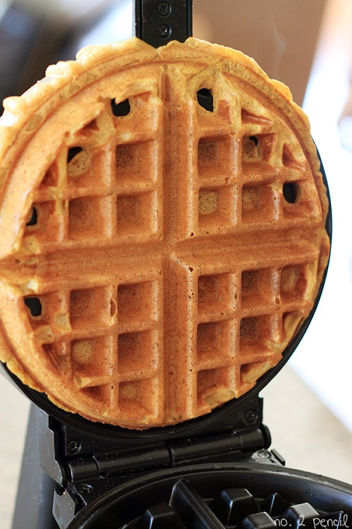 Pumpkin-Waffle