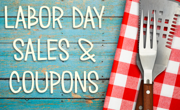 Labor Day Sales & Coupons