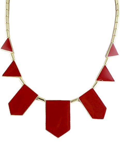 Geometric Collar Necklace