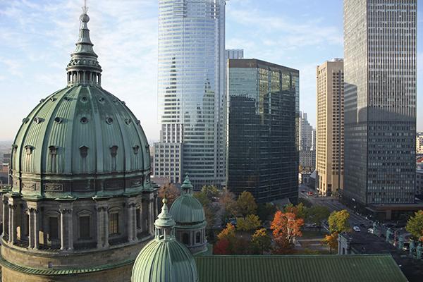 Montreal Buildings Skyline
