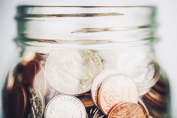 Glass Jar of Change