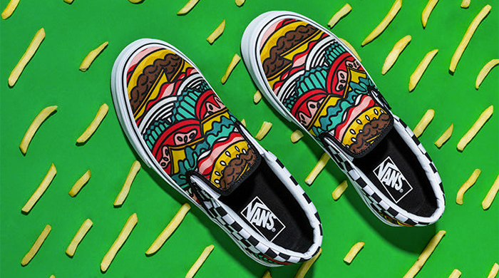Foodie Fashion: The New Nom-tastic Vans Collection