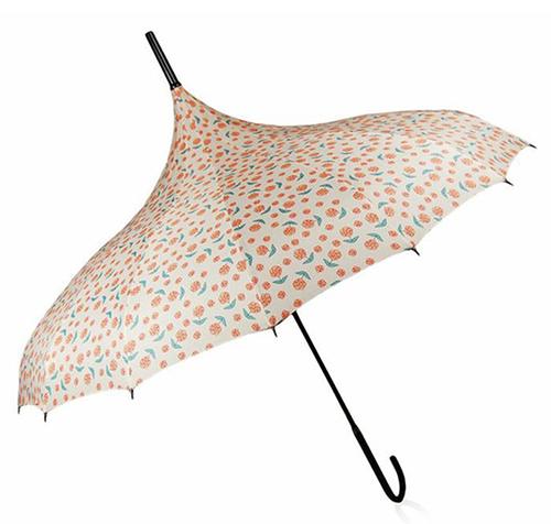 Ivory Roses Umbrella