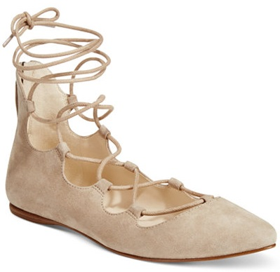 Nine West Signmeup Lace-Up Flats