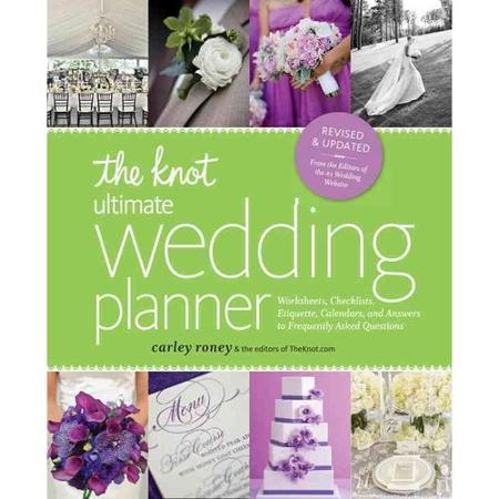 The Knot Wedding Planner book from Walmart