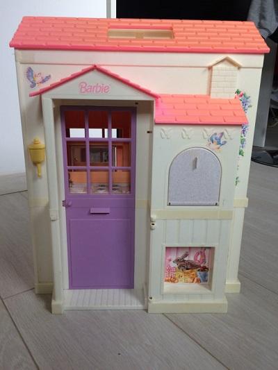 Vintage used Barbie dream house