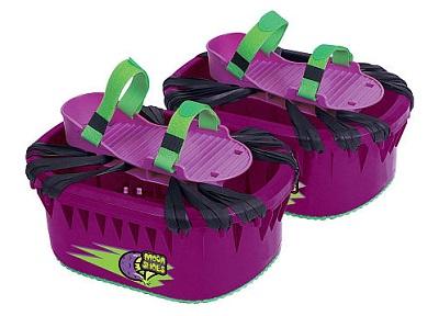 Purple moon shoes
