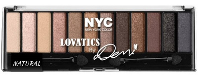 New York Color Lovatics By Demi Eyeshadow Palette