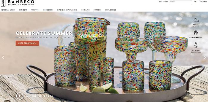 bambeco.com homepage