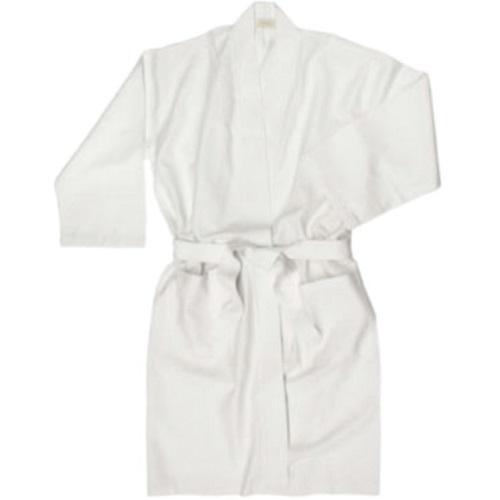 White bath robe