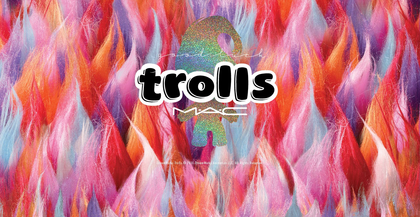 MAC Good Luck Trolls Collection 5