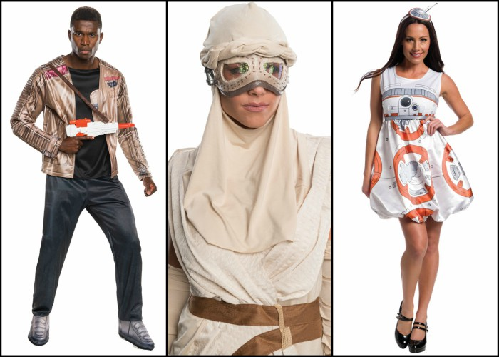 Star Wars The Force Awakens Halloween costumes