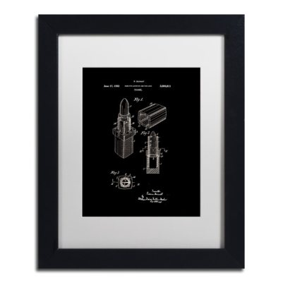 Claire Doherty Chanel Lipstick Case Patent Framed Art