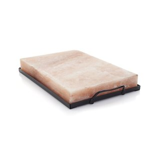 Himalayan Salt Block & Holder Set