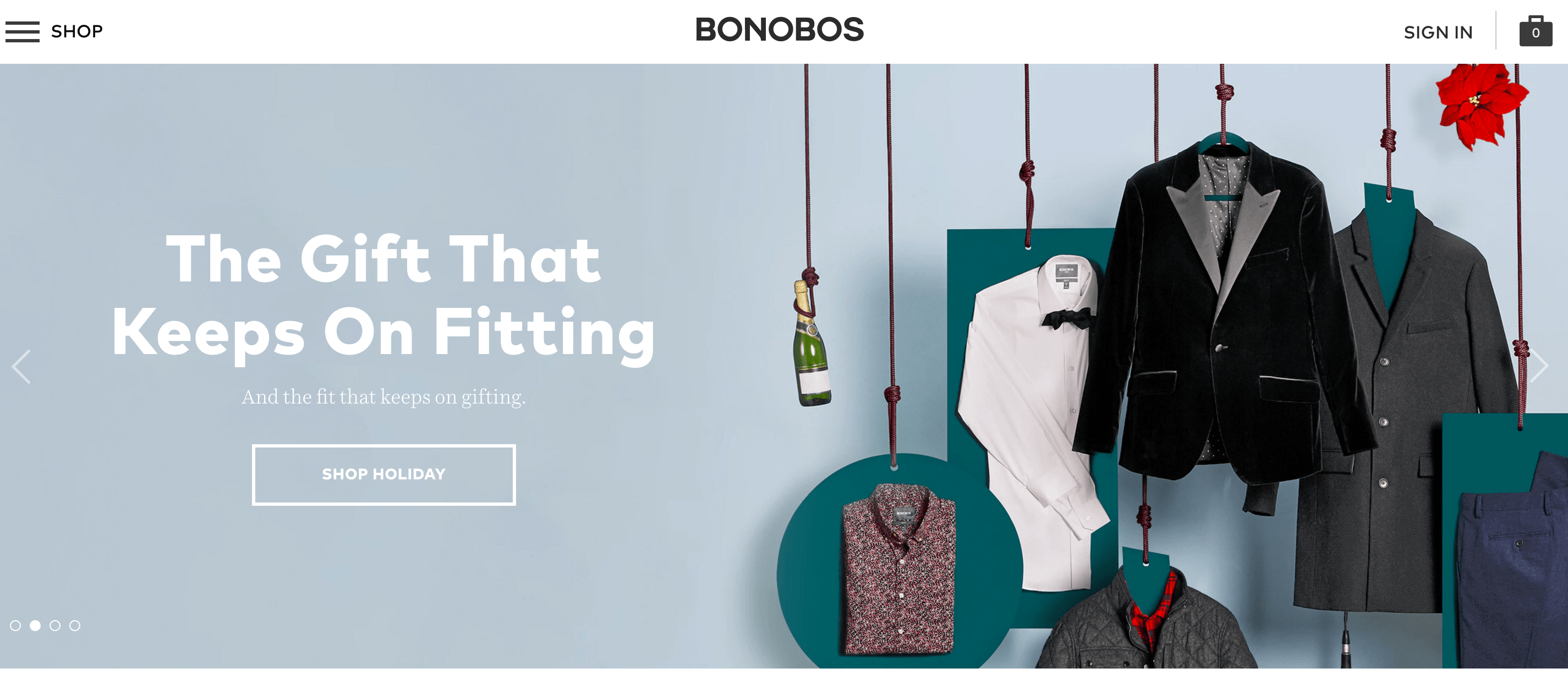 Bonobos Coupons & Cash Back
