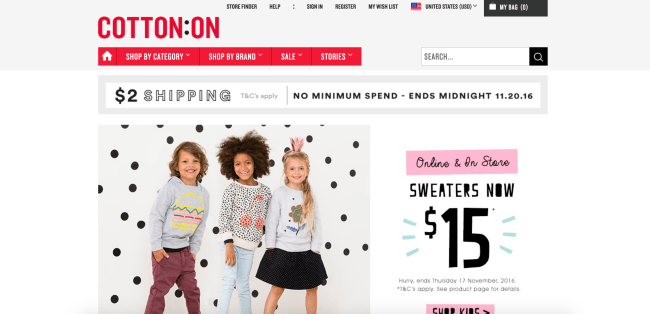 Cotton On Coupons & Cash Back