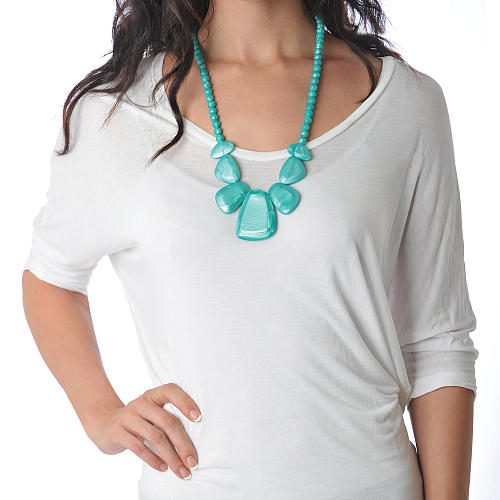 Bumkins Nixi Rocca Silicone Teething Necklace