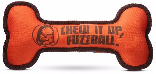"""""""Star Wars"""" """"Chew It Up, Fuzzball"""" Bone Dog Toy"""
