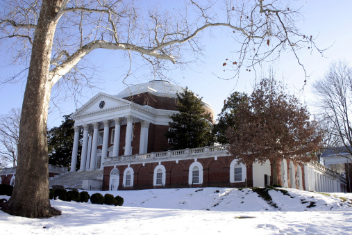 University of Virginia's Rotunda in Winter