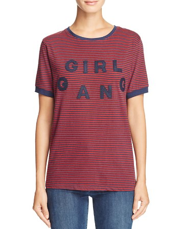Girl Gang Stripe Tee