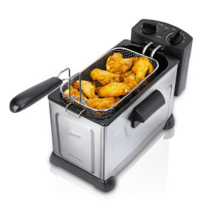 3.7 Liter Professional Style Stainless Steel Deep Fryer