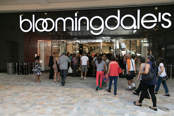 Shoppers arrive at the grand opening of the new Bloomingdale's store at the Ala Mona Center in Honolulu. (Photo by Marco Garcia/Getty Images for Bloomingdale's)