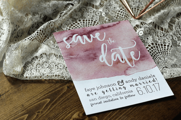 Smart Ways to Save on Your Wedding: Invitations 1