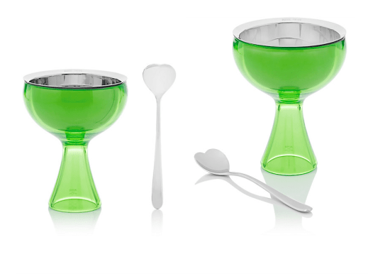 Alessi Big Love Ice Cream Bowl & Spoon
